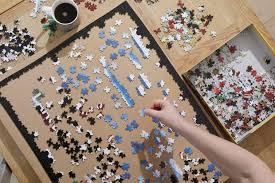 Zoom, CNBC and Jigsaw Puzzles: How America's Shut-In Families Are Spending  Their Days - WSJ